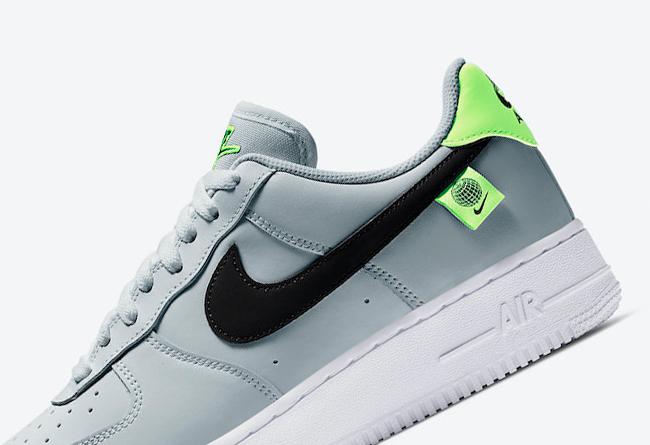 Nike,Air Force 1 Low,Worldwide  清爽灰绿配色!夏天就要穿这样的 Air Force 1 Low!
