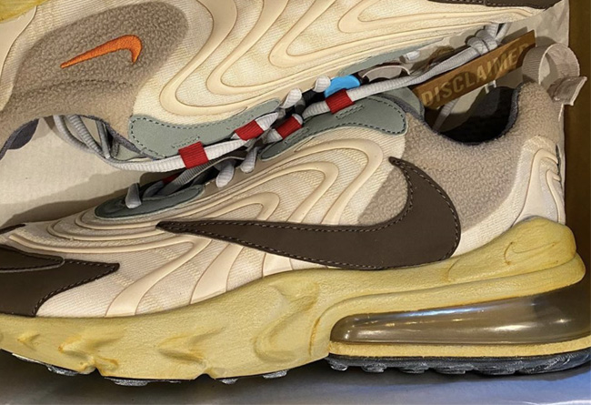 Travis Scott,Nike,Air Max 270  Travis Scott x Nike 亲友版本曝光,正是你想要的「倒钩」联名!