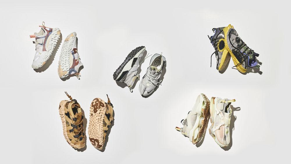 Nike,ISPA  传闻 8000 双的 Nike 怪鞋正式发布!五双新品都够奇葩!