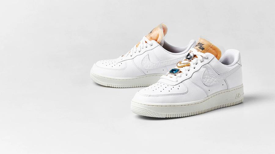 CZ8101-100,AF1,Air Force 1,Nik CZ8101-100 本月发售!宝石小白鞋 AF1 实物图片来了