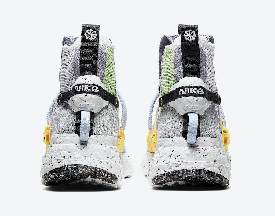 莆田鞋-Nike Space Hippie 01 货火博体育app:CQ3986-002插图(11)