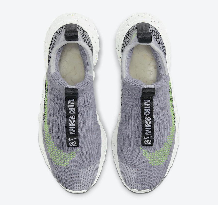 莆田鞋-Nike Space Hippie 01 货火博体育app:CQ3986-002插图(7)