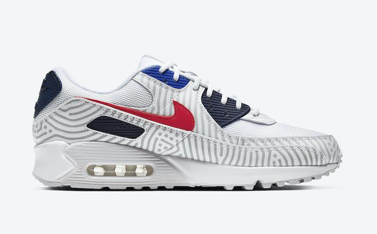 "莆田鞋-Nike Air Max 90 ""Euro Tour"" 货英超下注平台:CT1028-100插图(2)"