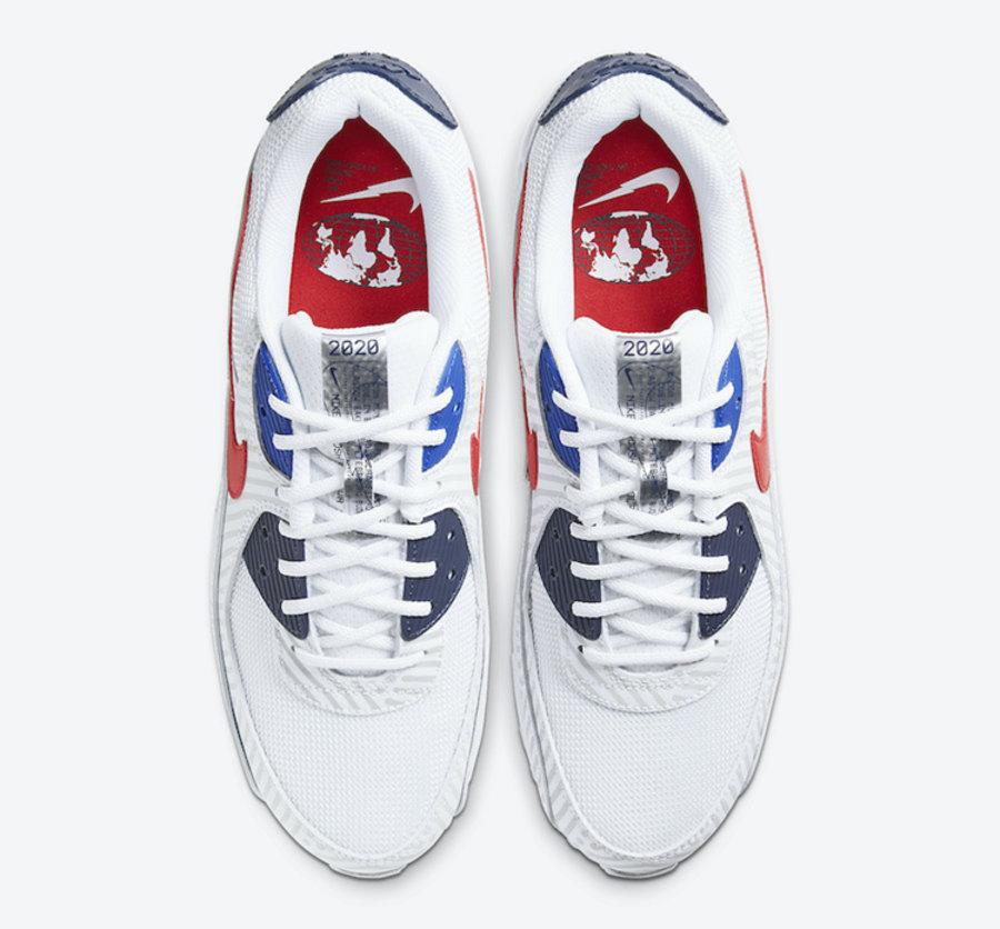 "莆田鞋-Nike Air Max 90 ""Euro Tour"" 货英超下注平台:CT1028-100插图(3)"