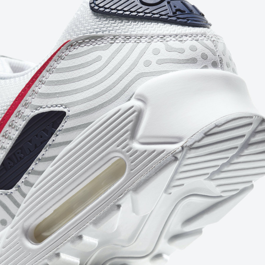 "莆田鞋-Nike Air Max 90 ""Euro Tour"" 货英超下注平台:CT1028-100插图(7)"