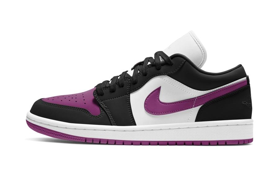 AJ1,Air Jordan 1,WMNS  黑紫脚趾 Air Jordan 1 来了!酷姐姐专属!