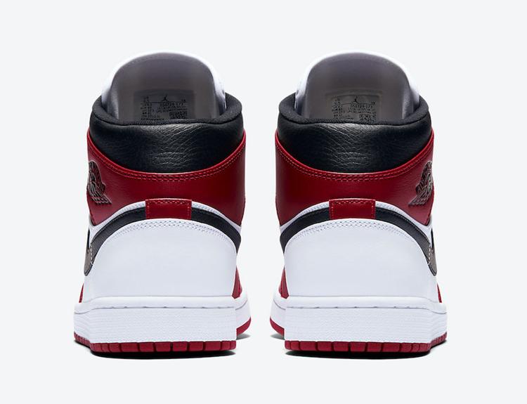 Air Jordan 1 Mid,Chicago,55472 小芝加哥 AJ1 Mid 官图曝光!就问你有没有元年内味了!