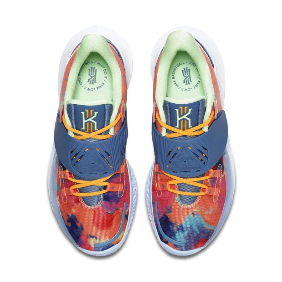 Nike,Kyrie Low 3,CJ1286-600 骚气十足的扎染设计!全新配色 kyrie 3 Low 官图释出!