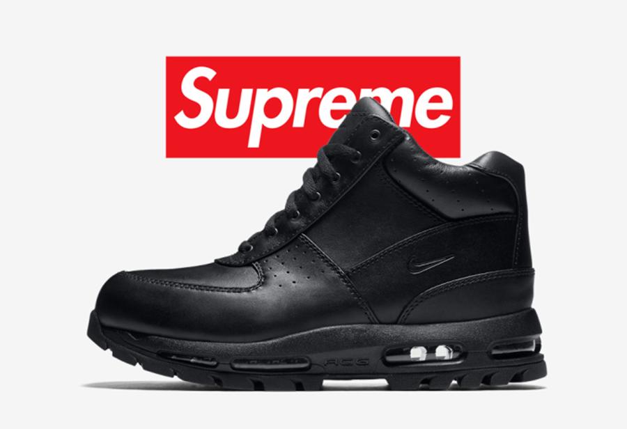Nike,Supreme,Air Max Goadome  年度压轴大戏?Supreme x Nike 新联名曝光,但是鞋型...