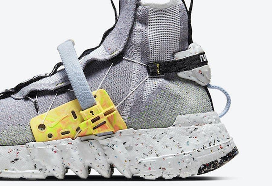 Nike,Space Hippie,发售,CQ3986-00  国内官网预告!Nike Space Hippie 第二波配色下周发售!