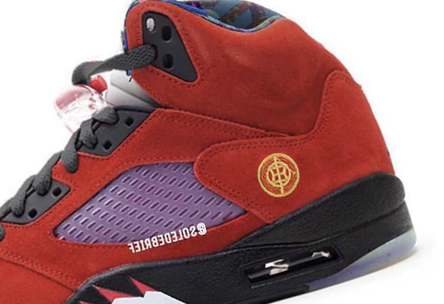Air Jordan 5,AJ5,What The  天价配色合体!What The AJ5 首次曝光,年底发售!