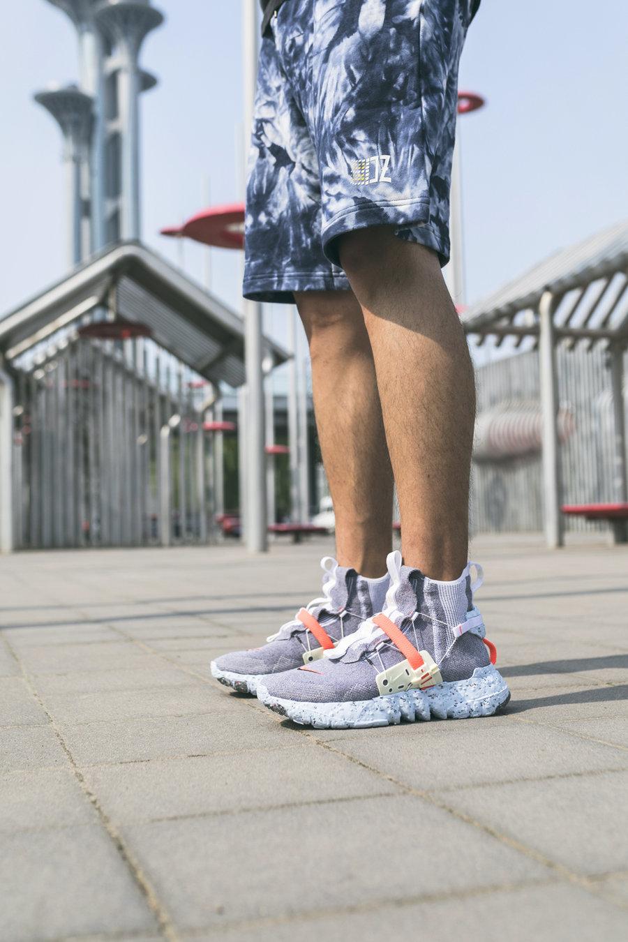 Nike,Space Hippie,Air VaporMax  邓紫棋、王一博都爱!Nike 终于把这双鞋做出来了!每天出门只想穿它!