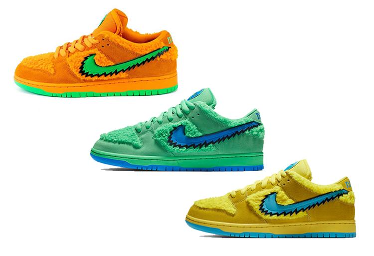 Nike,Dunk SB,Green Bear,CJ5378  日期定了!「小熊」Dunk SB 本月发售,只不过...