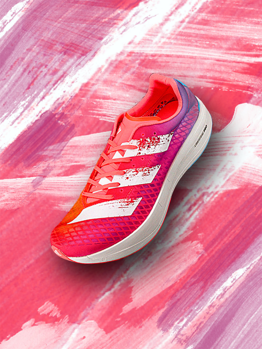 adizero,adios Pro,adidas  adidas 全新碳板跑鞋!脚感真的顶!外底竟然长这样...