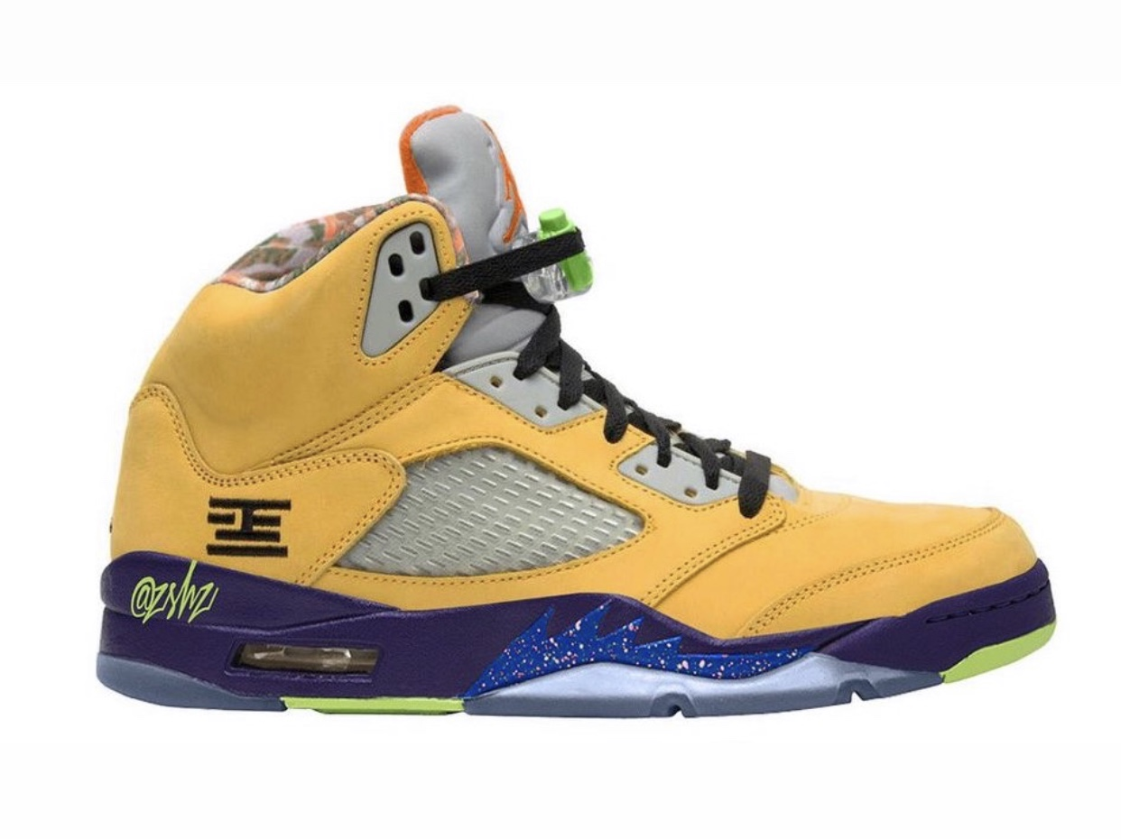AJ5,Air Jordan 5,CZ5725-700,发售  超多天价配色融合!这双 AJ5 比想象中更惊喜,十一月发售!