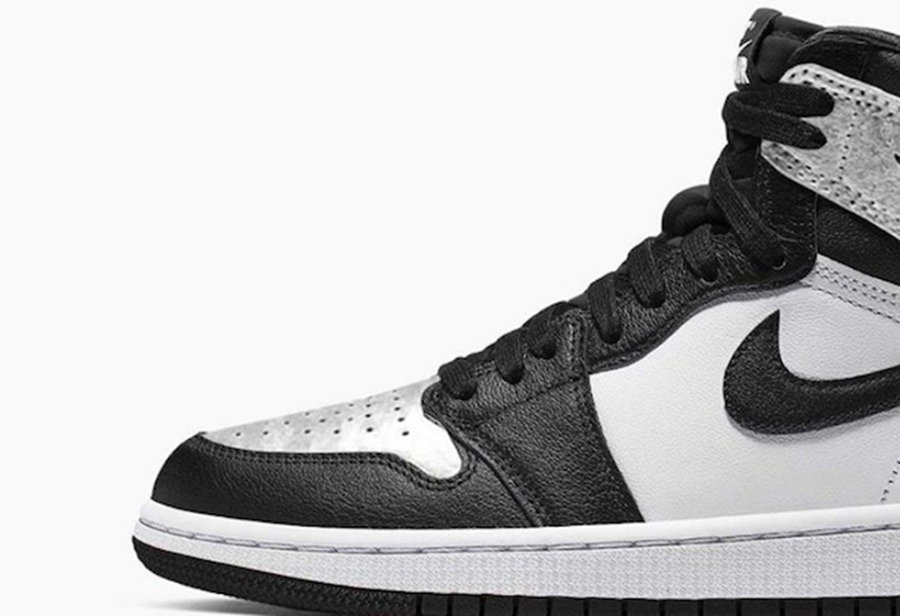 Air Jordan 1,Silver Toe,CD0461  让男生欲罢不能的女鞋!黑银脚趾 Air Jordan 1 发售信息来了!