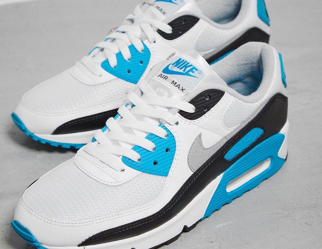 Nike,Air Max 90,发售,laser Blue  鞋盒都与众不同!最想要的元年 Air Max 90 就是它!