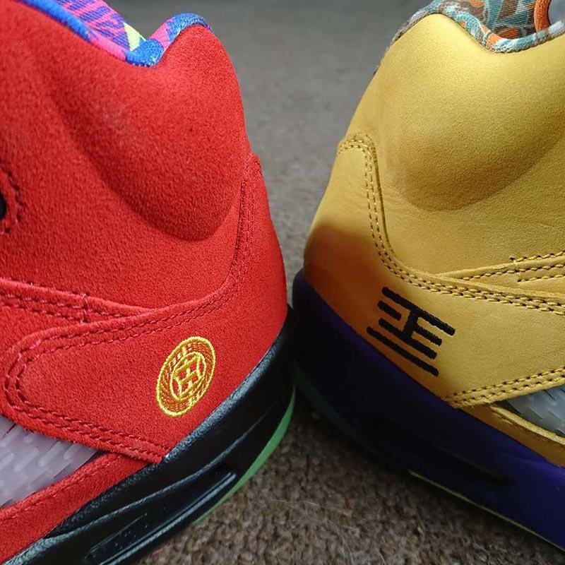 Air Jordan 5,AJ5,What The,CZ57  王炸合体!What The AJ5 完整实物曝光!发售日期有了!