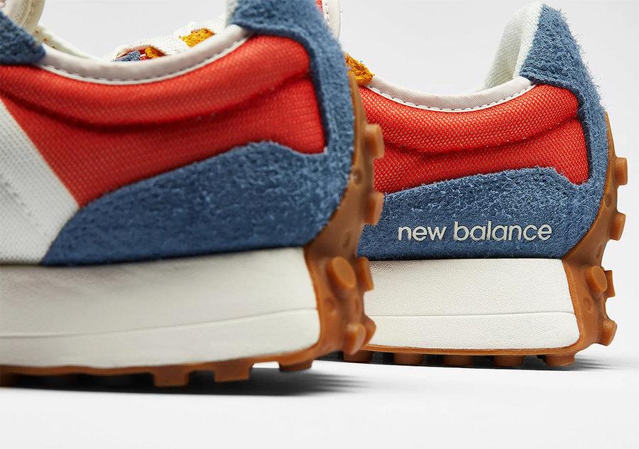 New Balance,327,发售  首发配色破 2K!New Balance 327 亮眼新品官图释出!