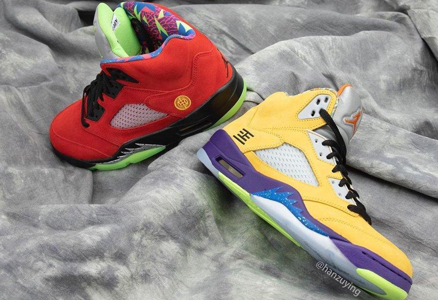 Air Jordan 5,AJ,AJ5,What The,C  What The AJ5 最新实物曝光!融合 8 双超人气配色!你看出几个?