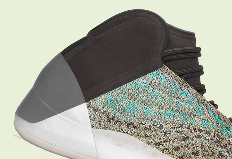 adidas,Yeezy,Quantum,Ophanim  蓝灰撞色设计!Yeezy 篮球鞋全新配色下月发售,只不过...