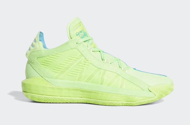 adidas,Dame 6,McDAAG,JamFest,F  蓝绿撞色 + 阴阳设计!全新配色 adidas Dame 6 即将登场!