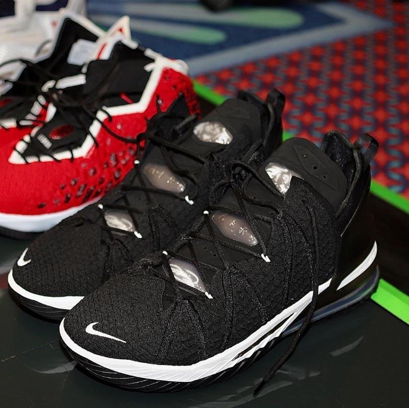 詹姆斯上脚 sacai x Nike!NBA 复赛开启,大家都穿了什么鞋?-街看