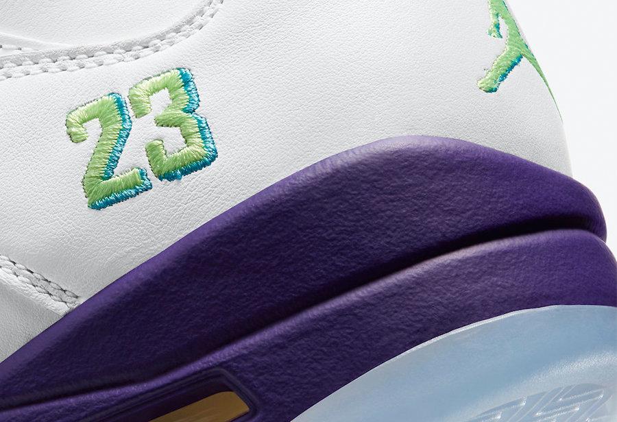 Air Jordan 5,AJ5,Alternate Bel  「新鲜王子 2.0」Air Jordan 5 本月发售!配色灵感你清楚吗?