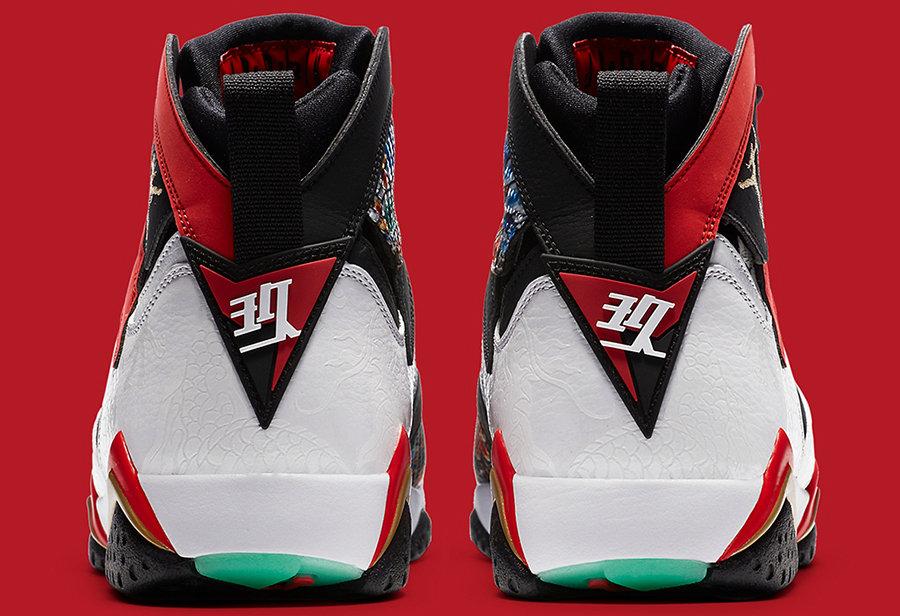 AJ7,Air Jordan 7 GC,China,CW28  9 月狠鞋提前曝光!这双中国限定 Air Jordan 7 细节美如画!