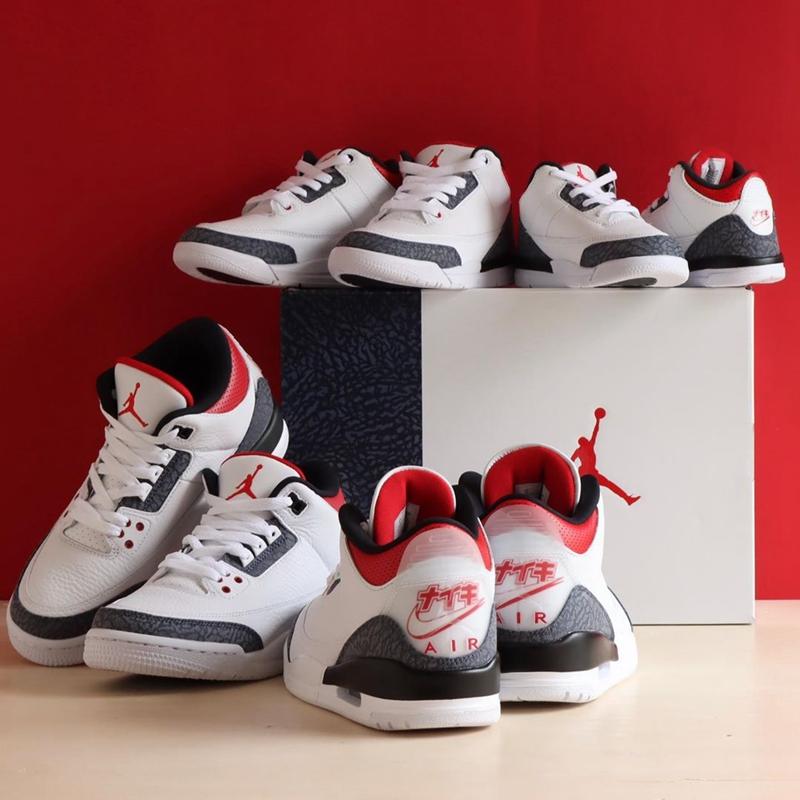 Air Jordan 3 SE-T,AJ3,日本限定,CZ6  难抢的日本限定又来了!新火焰红 Air Jordan 3 下周发售!