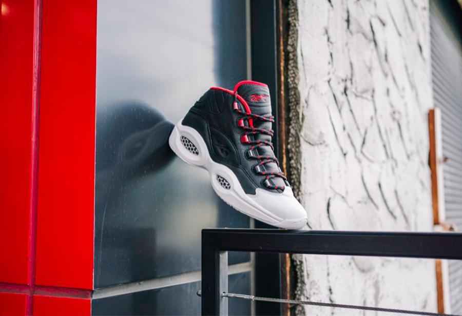 Reebok,adidas,Question Mid,发售,  Reebok 又和 adidas 联名!全新 Question Mid 本周发售
