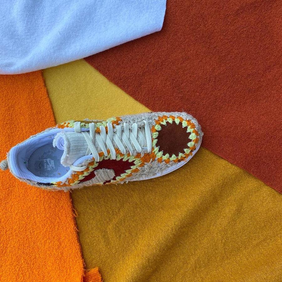 Air Force 1,AF1,Nike,球鞋定制  毛毯材质打造!这样的高规格 AF1 你恐怕没见过!