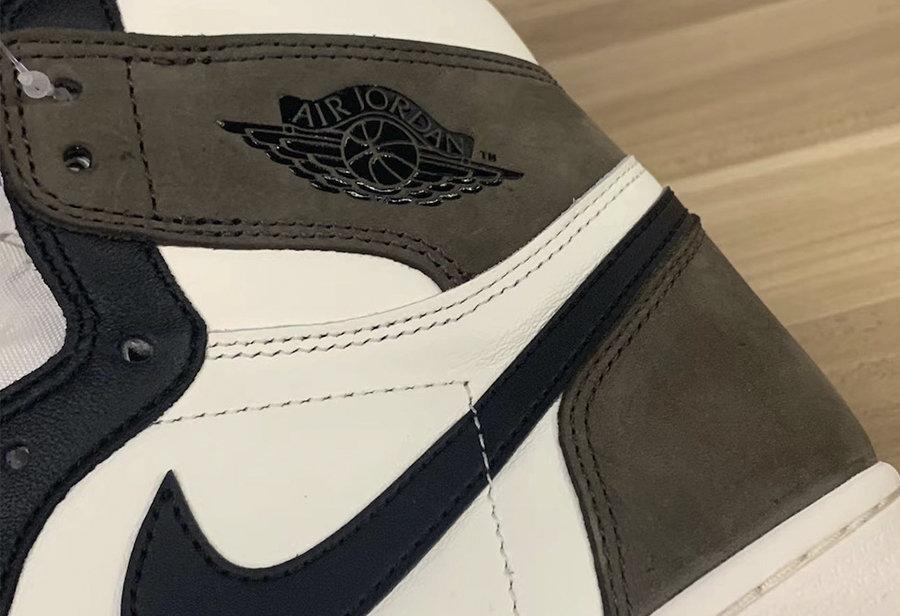 Air Jordan 1,AJ1,555088-105,发售  质感、配色都酷似反勾!摩卡 Air Jordan 1 最新实物曝光