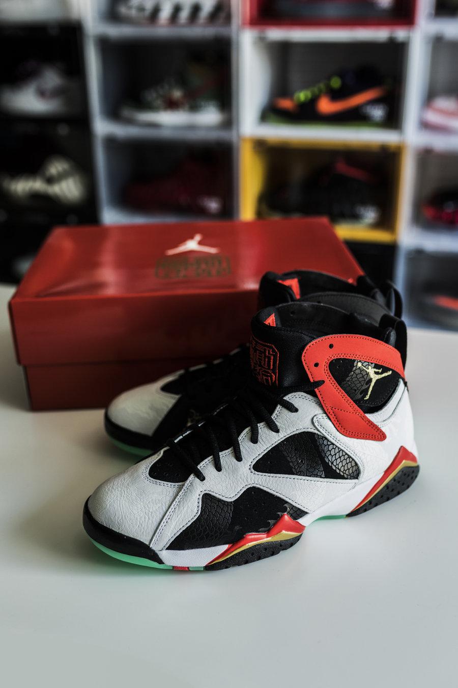 Air Jordan 7,AJ7,发售,开箱  神秘中国风 AJ 抢先开箱!这几个汉字你可能看不懂!