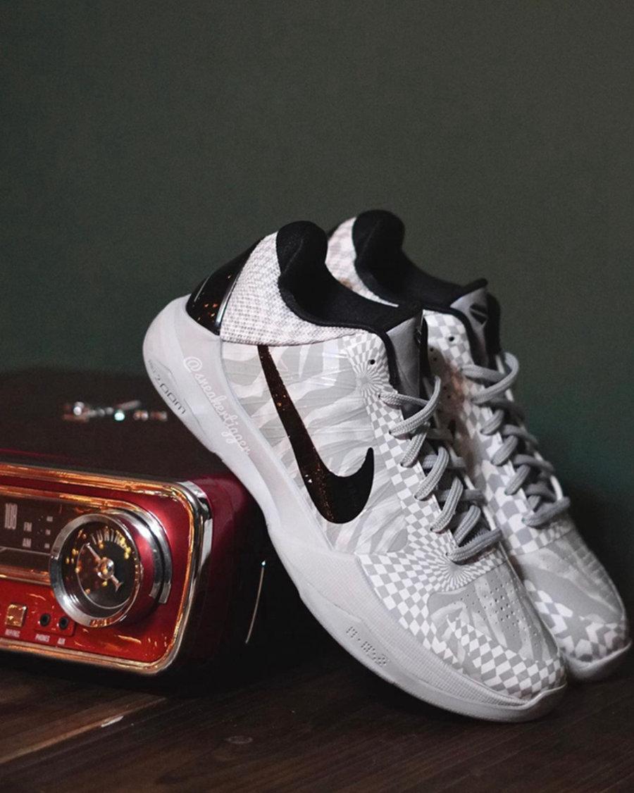 Nike,Kobe 5,詹姆斯  詹皇上脚「李小龙」Kobe 5!又一款新配色实物曝光!