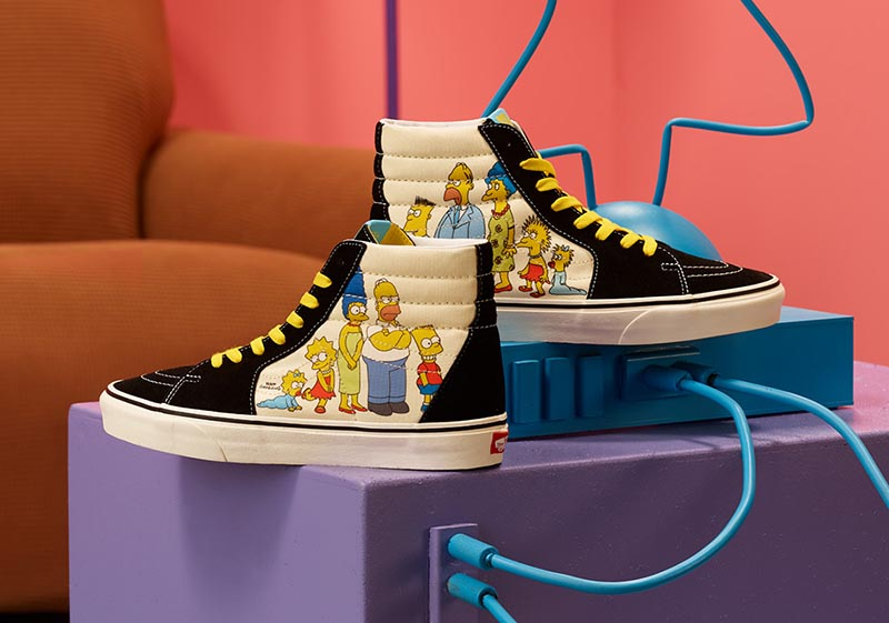 The Simpsons,Vans  《辛普森一家》 x Vans 联名本周发售,有一款绝对卖爆!