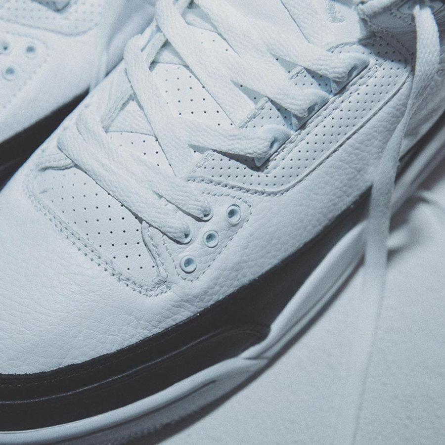 Air Jordan 3,,AJ3,Fragment,DA3  双层后跟设计!藤原浩 Air Jordan 3 实物美图首次曝光!