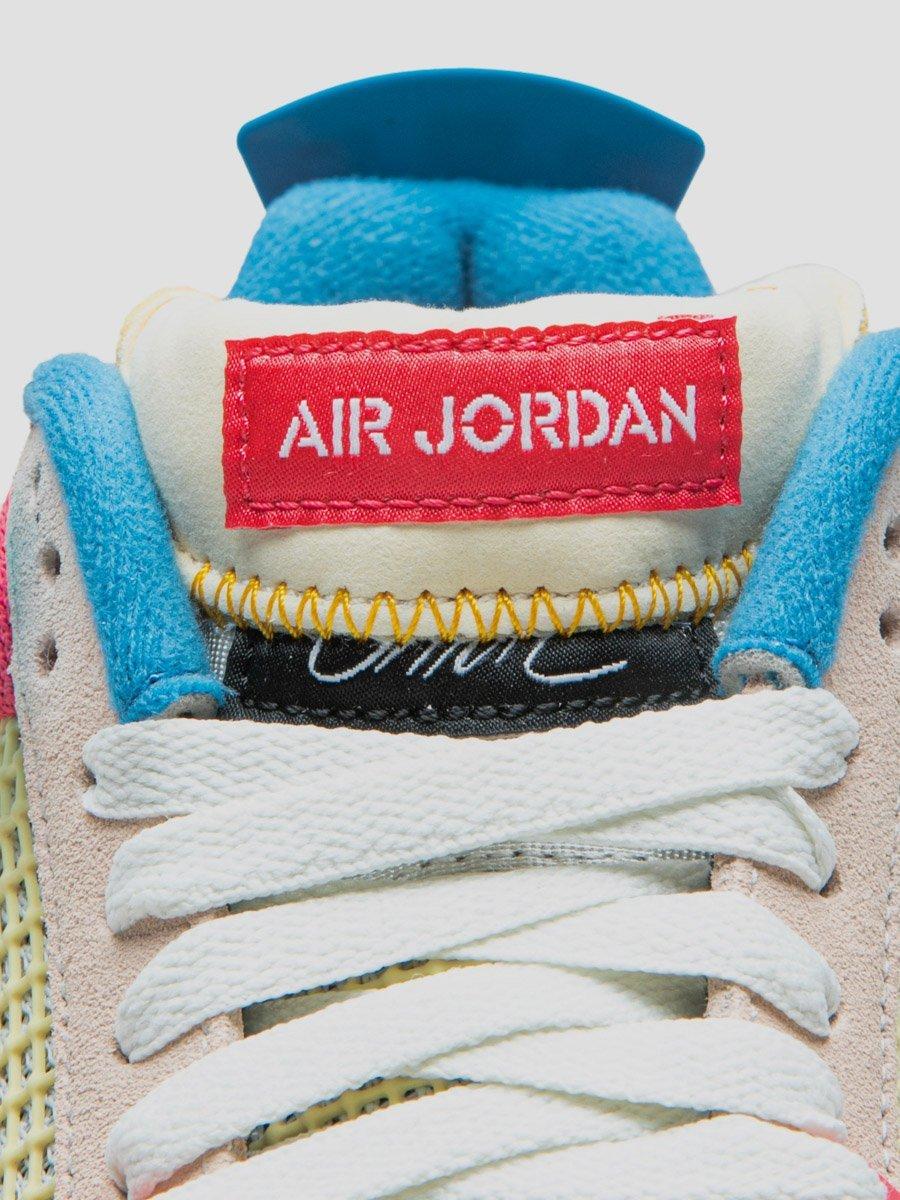 AJ4,Air Jordan 4,DC9533-001,DC  鞋舌还能这么玩!Union x AJ4 又真香了!月底发售