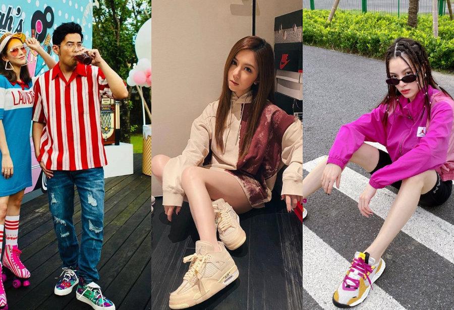 明星上脚,周杰伦,王一博  周杰伦、欧阳娜娜、白敬亭上脚同一双联名新鞋!谁才是「亚洲最快」?