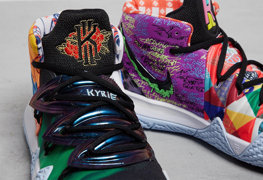 """Nike,Kyrie S2,What The,Hybrid,  买 1 双抵 10 双!最强鸳鸯配色 Kyrie S2 """"What The"""" 即将发售!"""