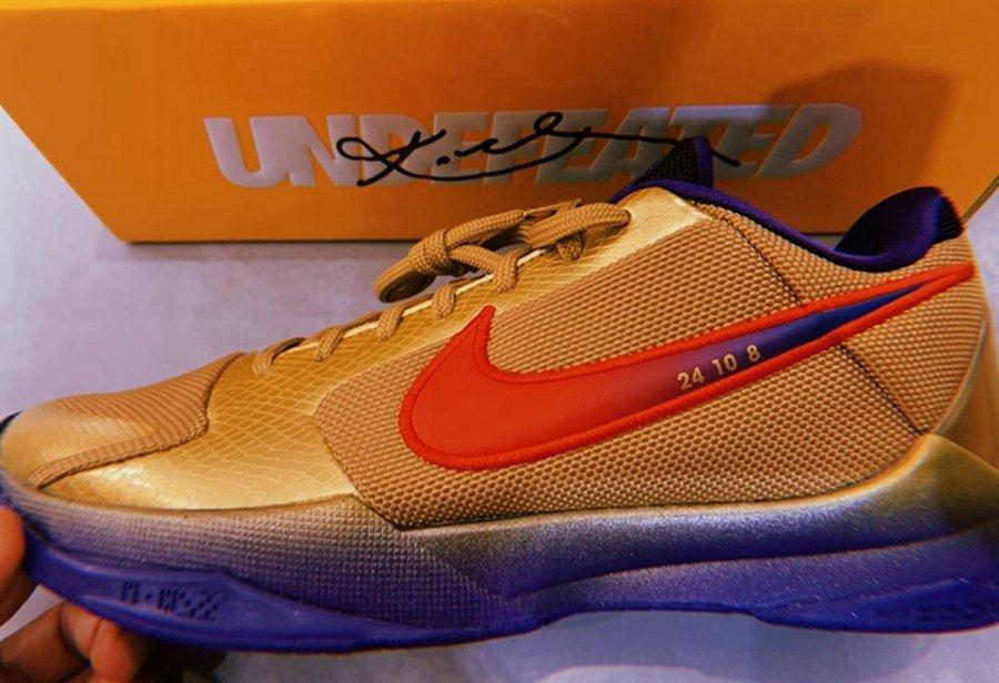 Undefeated,Nike,Kobe 5,Protro,  意外!第三款 UNDFTD x Kobe 5 他竟然是国内曝光第一人!