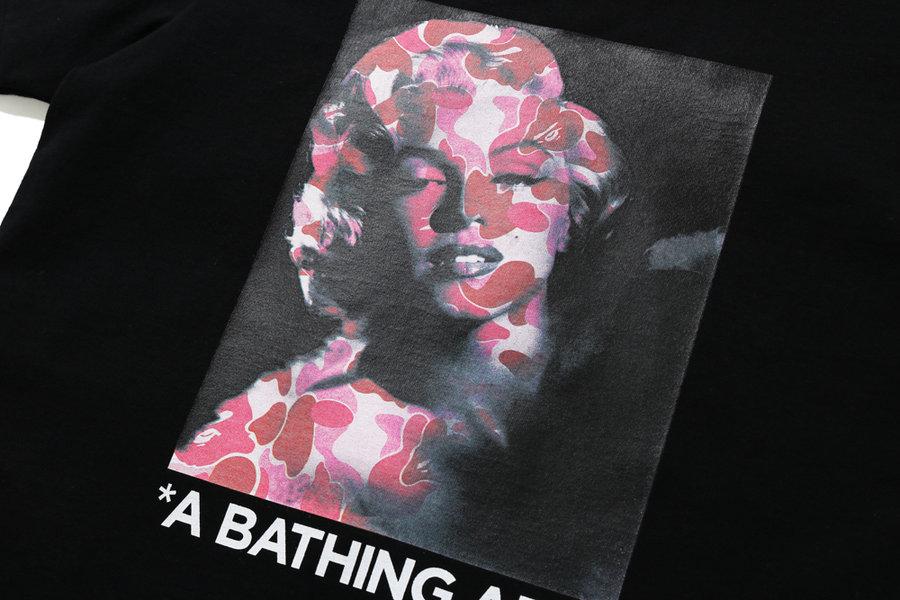 BAPE,玛丽莲·梦露,发售  致敬一代性感女神!玛丽莲·梦露 x BAPE 系列本周发售!