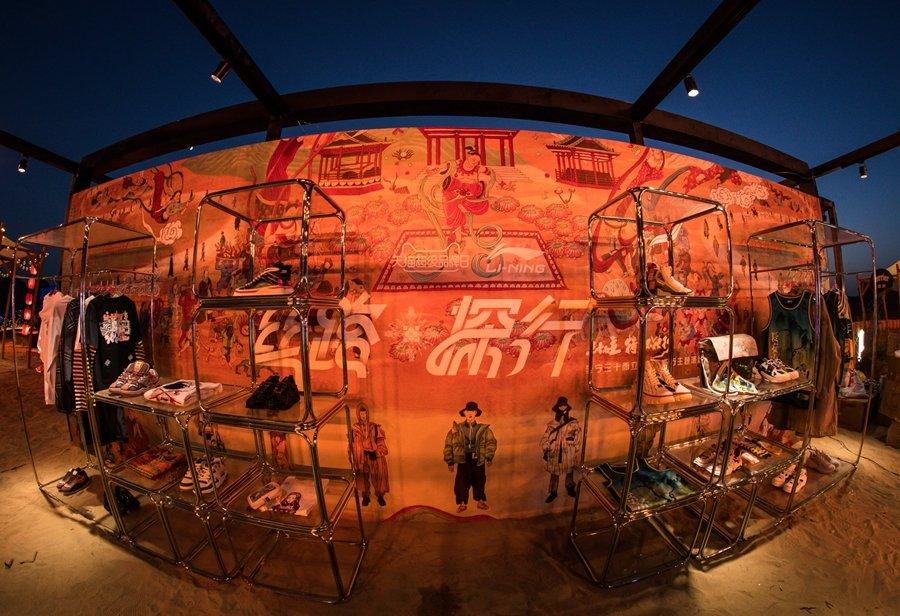 李宁,敦煌博物馆,联名,COUNTERFLOW  众星云集!李宁三十而立·丝路探行主题派对看点不只有球鞋!
