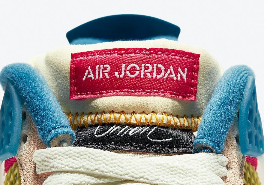 Union,AJ4,Air Jordan 4,DC9533-  Union x AJ4 真的好看!可惜官宣国内不发售...