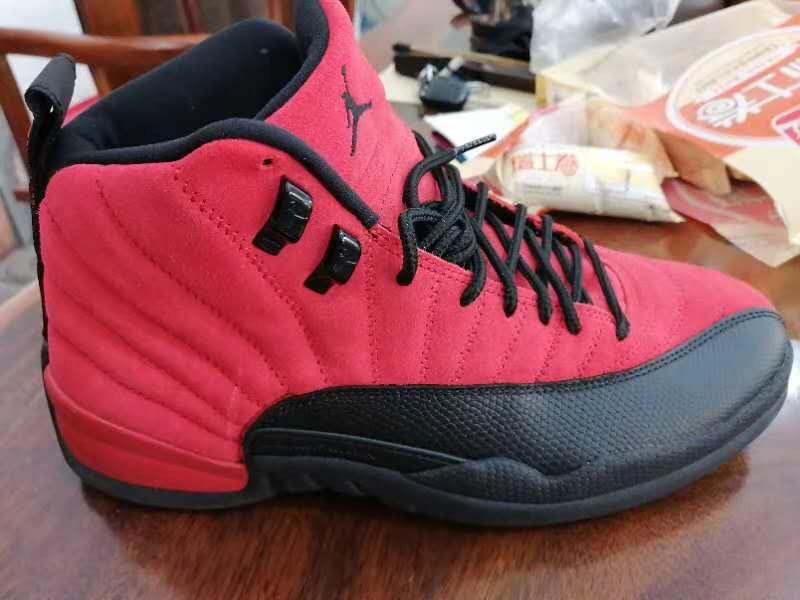 Air Jordan 12,AJ12,发售,CT8013-6  麂皮质感真不错!反转病倒 Air Jordan 12 实物曝光