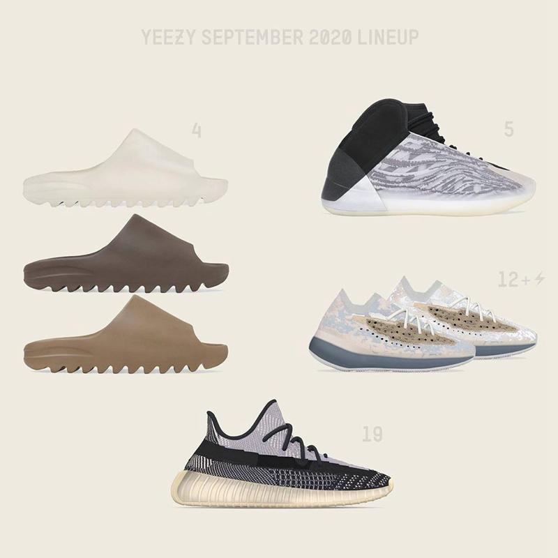 Yeezy,adidas,Slide,Core,Soot,G  速登记!Yeezy 拖鞋国内第二波发售,预售价格小两千!