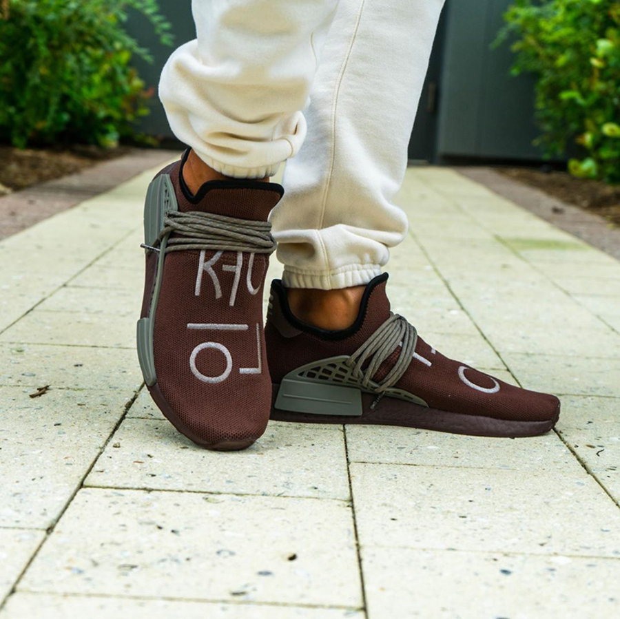 adidas,NMD Hu,Chocolate,GY0090  巧克力配色!全新 adidas NMD Hu 你打几分?