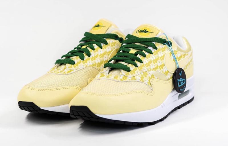 Nike,Air Max 1,Lemonade,CJ0609  先酸为敬!柠檬 Air Max 1 实物曝光,近期发售!