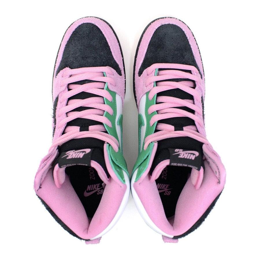 Nike 这设计真是头一次见!这双 SB Dunk High 长见识了!