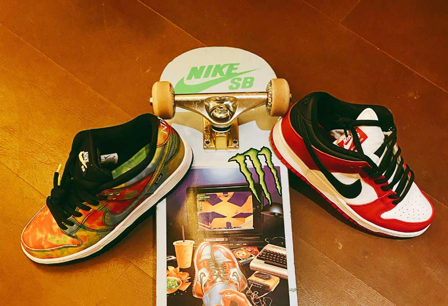 脚伤刚好就晒出两双热门 Nike!鞋圈财神爷王一博可真是尽职尽责!